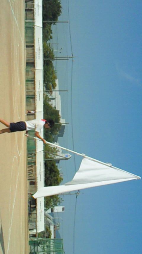 今日は井口高校の体育祭